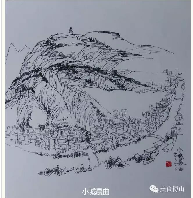 五阳山,金牛山,樵岭前,白石洞等八大风景区,静中有动,观之如临真景,似